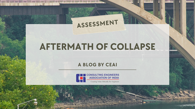CEAI is the member organization of FIDIC and has done a case study on Aftermath of Collapse for Bridge Structural Failures